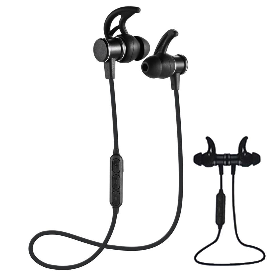 Беспроводные наушники Sports Headphone SLS-100 с микрофоном