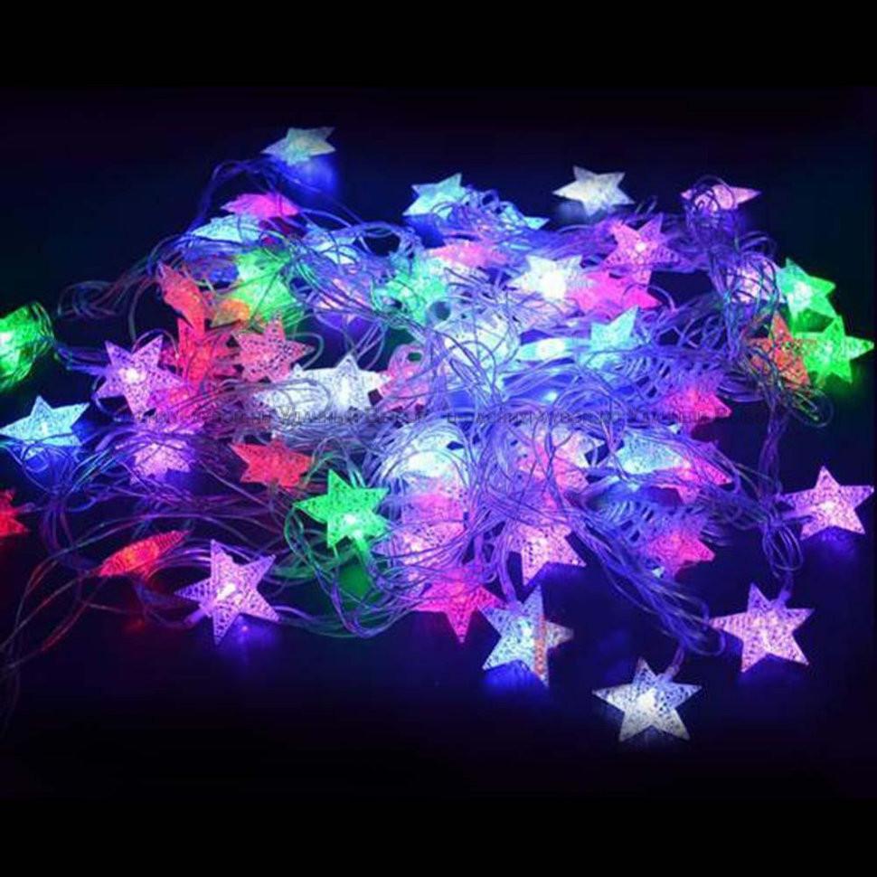 Светодиодная гирлянда Звёзды