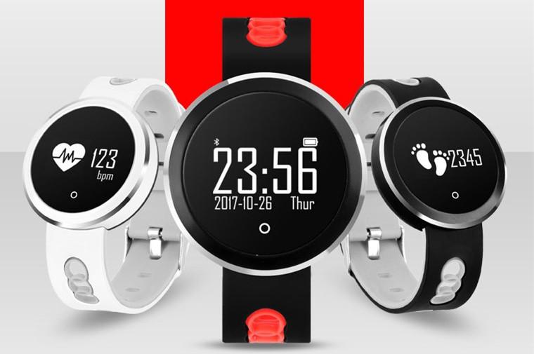 Фитнес браслет (смарт часы) Q7 с контролем сердечного ритма и давления