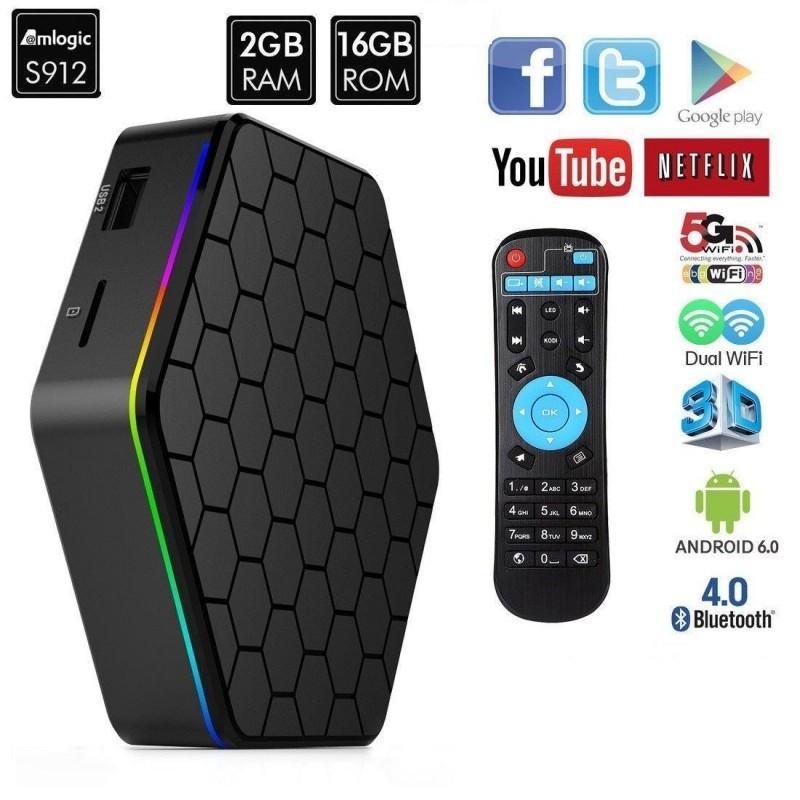 Смарт приставка Smart TV TV box T95Z plus (2Gb/16Gb)