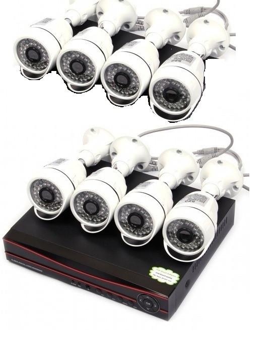 Комплект видеонаблюдения 8 камер XPX K3908 1 MP