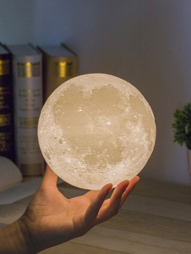 Ночник MGItik Луна 20см