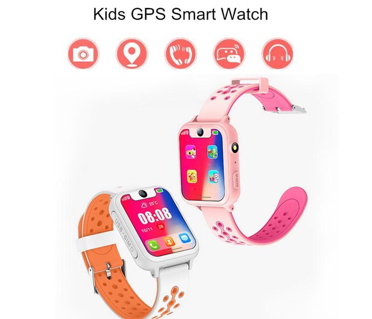 Умные детские часы GPS Smart baby watch X (S8/WLS6) с камерой и фонариком