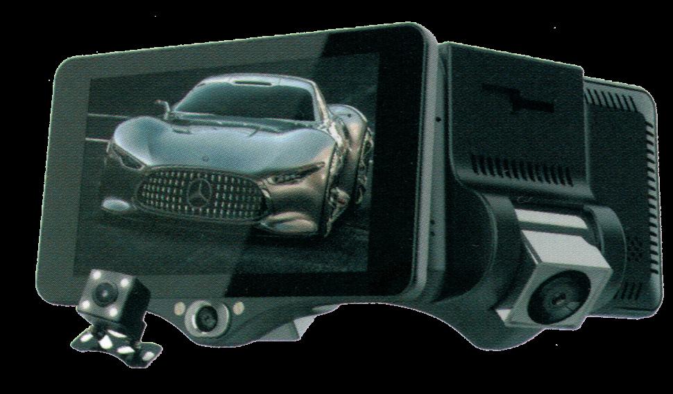 Автомобильный видеорегистратор XPX P7 с 3-мя камерами