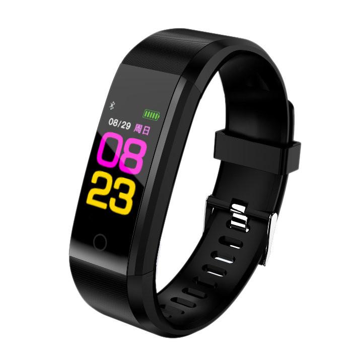 Фитнес браслет Fitness Tracker 115 Plus с измерением пульса и давления