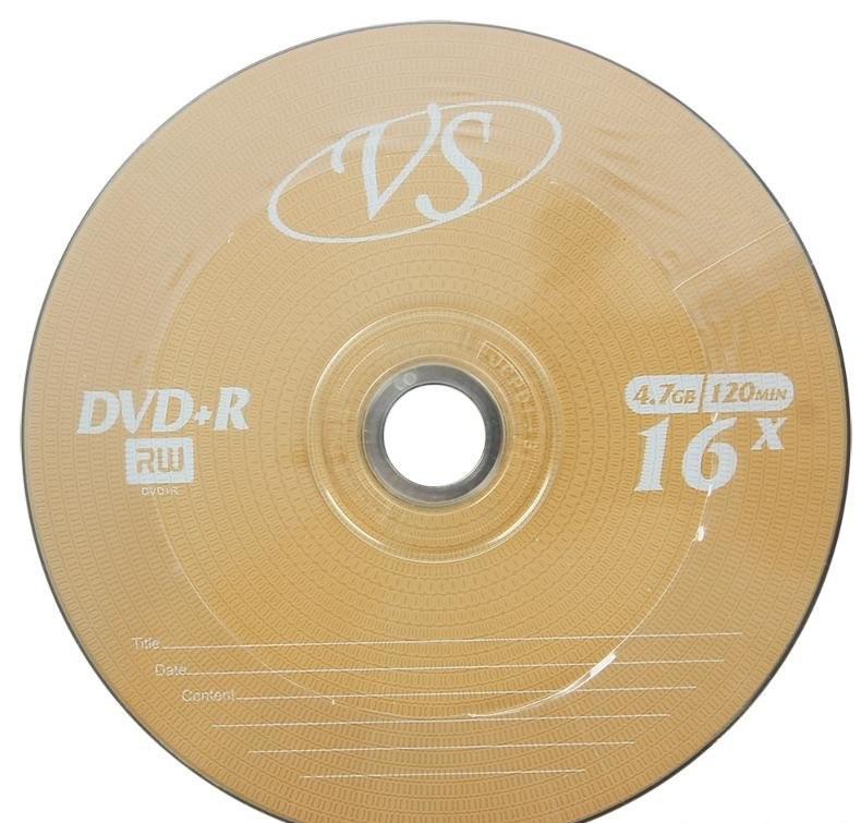 Диск DVD+R 4,7GB 16x