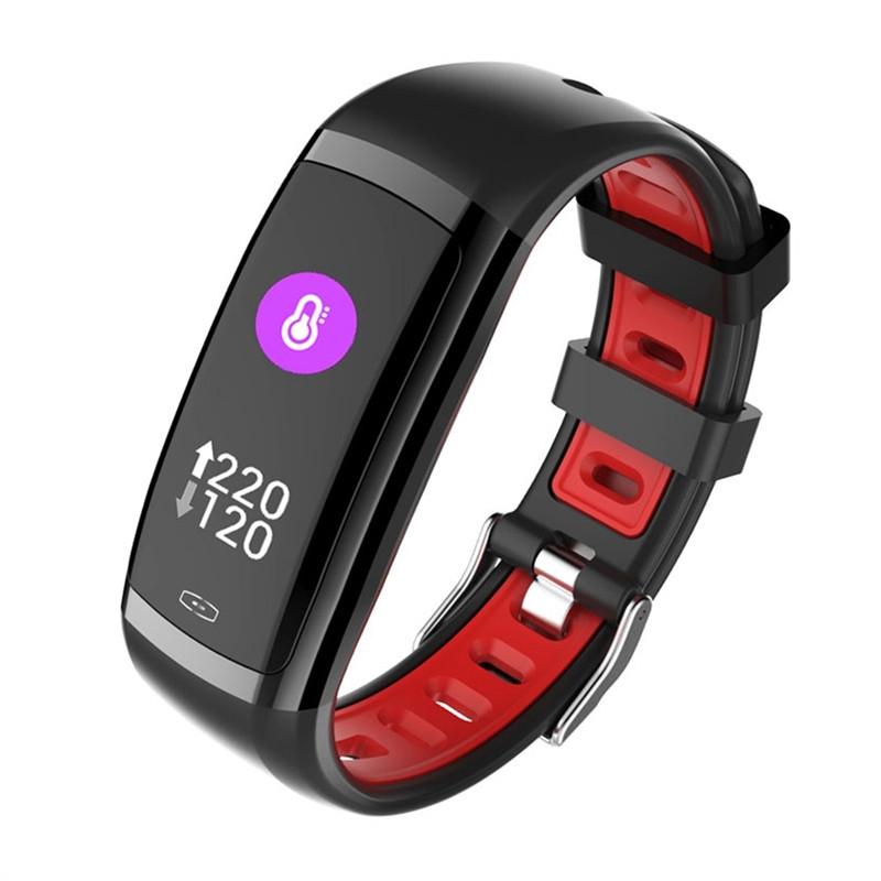 Фитнec бpacлeт Smart Fitness Wristband CD09 с измерением давления и пульса