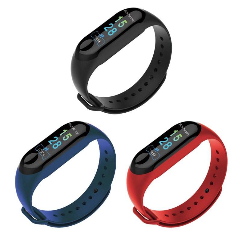 Смарт фитнес браслет Smart Band M3 с измерением сердечного ритма и давления (RB83C2)