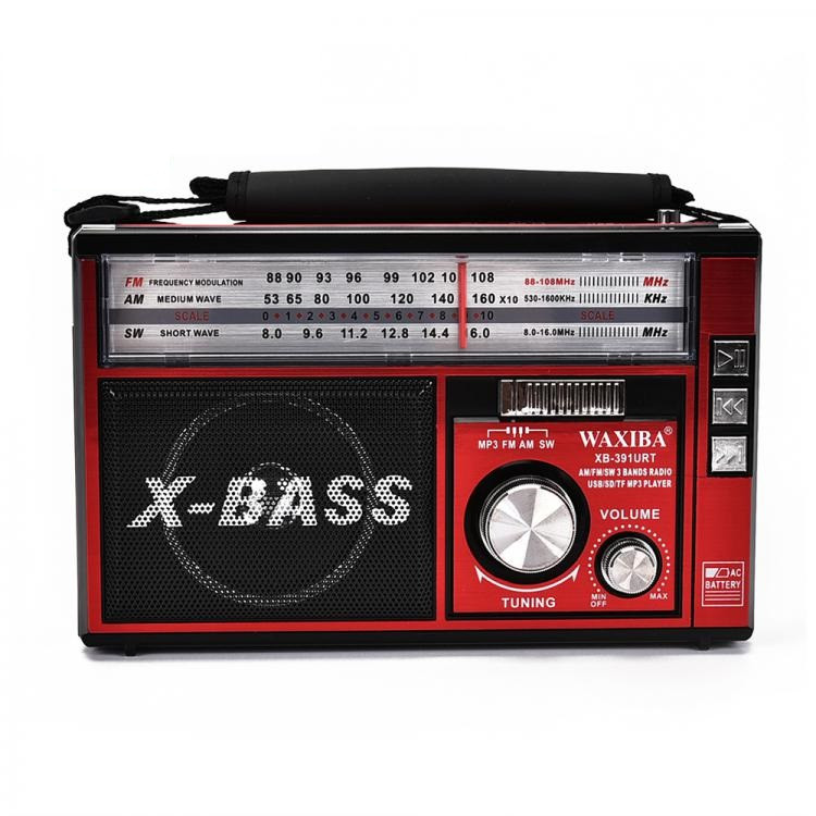 Колонка Радиоприемник XB-391URT FM/USB/SD