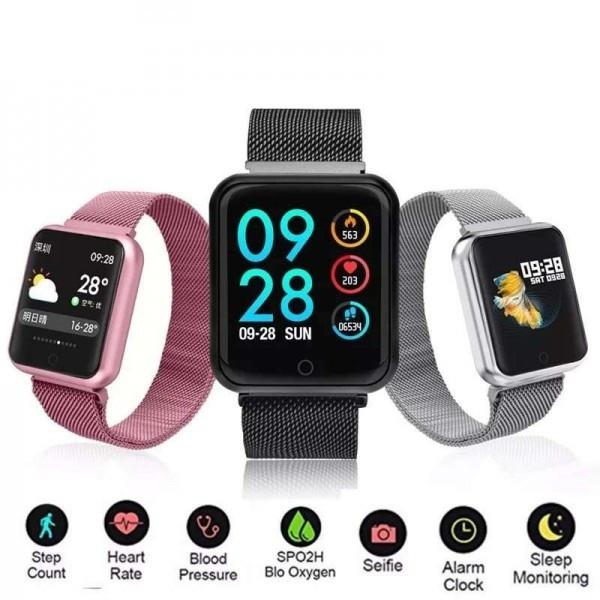 Смарт фитнес часы Smart Bracelet P70 (P68 plus) с измерением давления и сердечного ритма