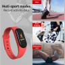 Смарт браслет Smart Bracelet M4 Pro с измерением температуры, давления, пульса